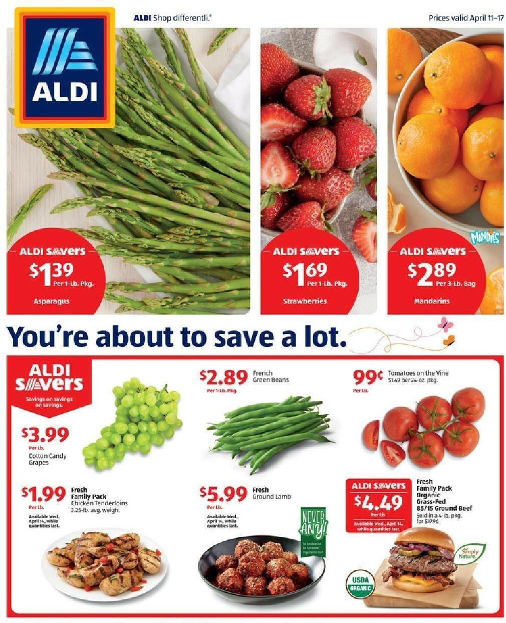 ALDI Weekly Ad from April 11