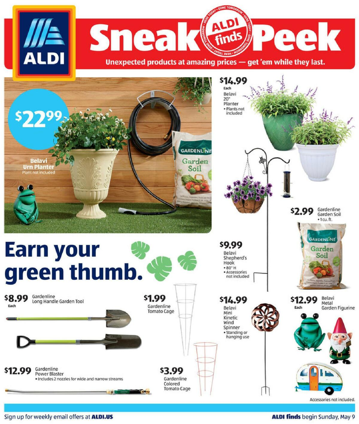 ALDI In Store Ad Weekly Ad from May 9
