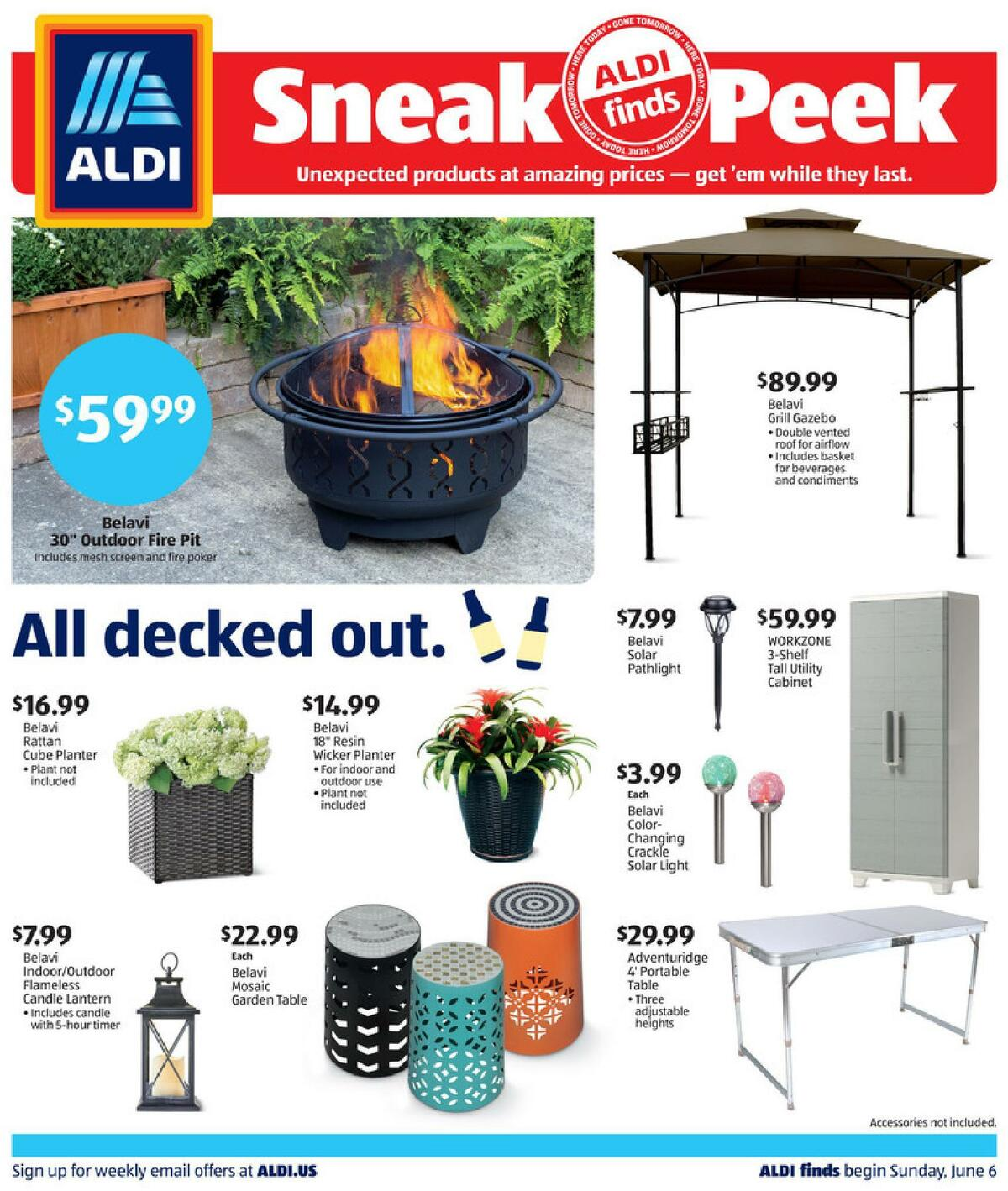 ALDI In Store Ad Weekly Ad from June 6