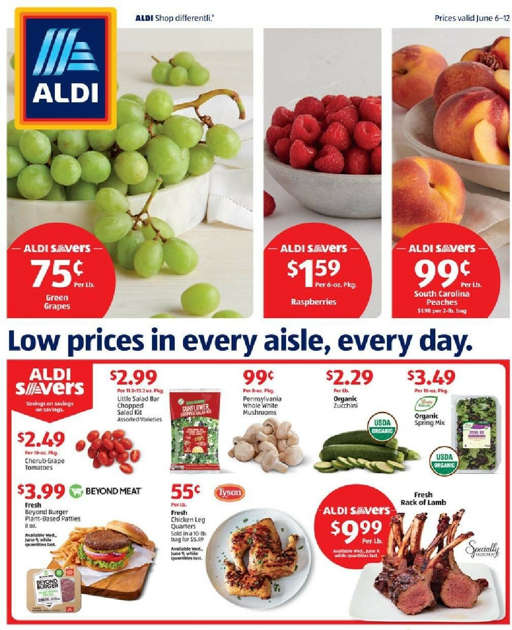 ALDI Weekly Ad from June 6