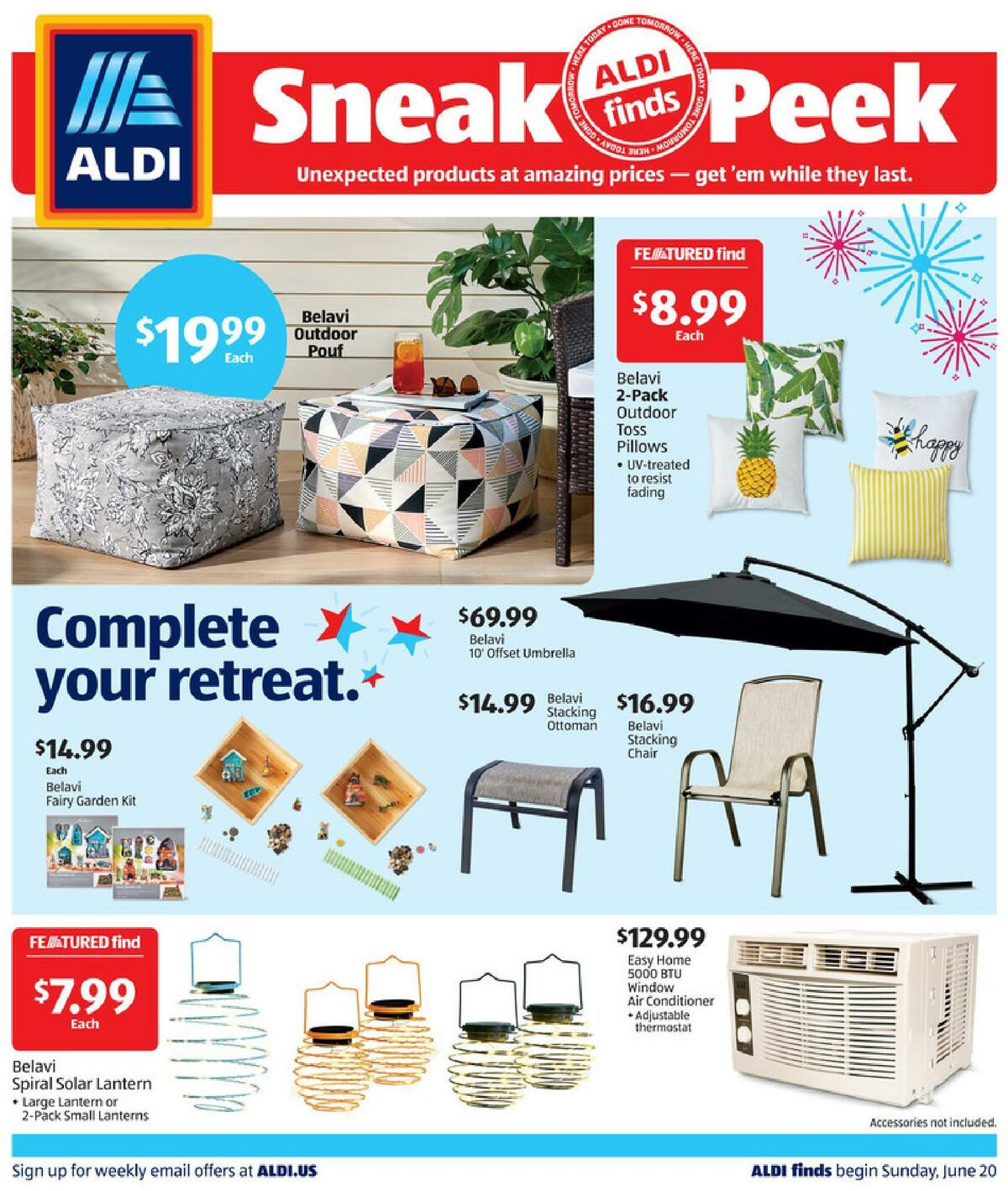 ALDI In Store Ad Weekly Ad from June 20