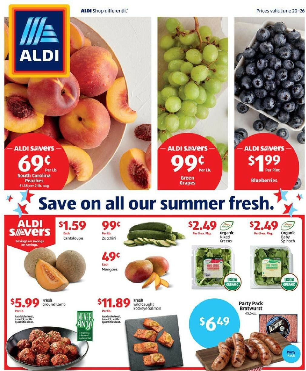 ALDI Weekly Ad from June 20