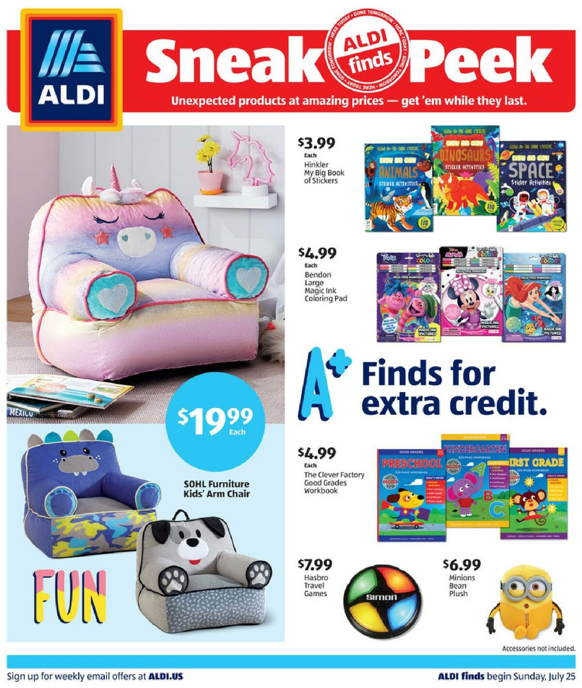 ALDI In Store Ad Weekly Ad from July 25