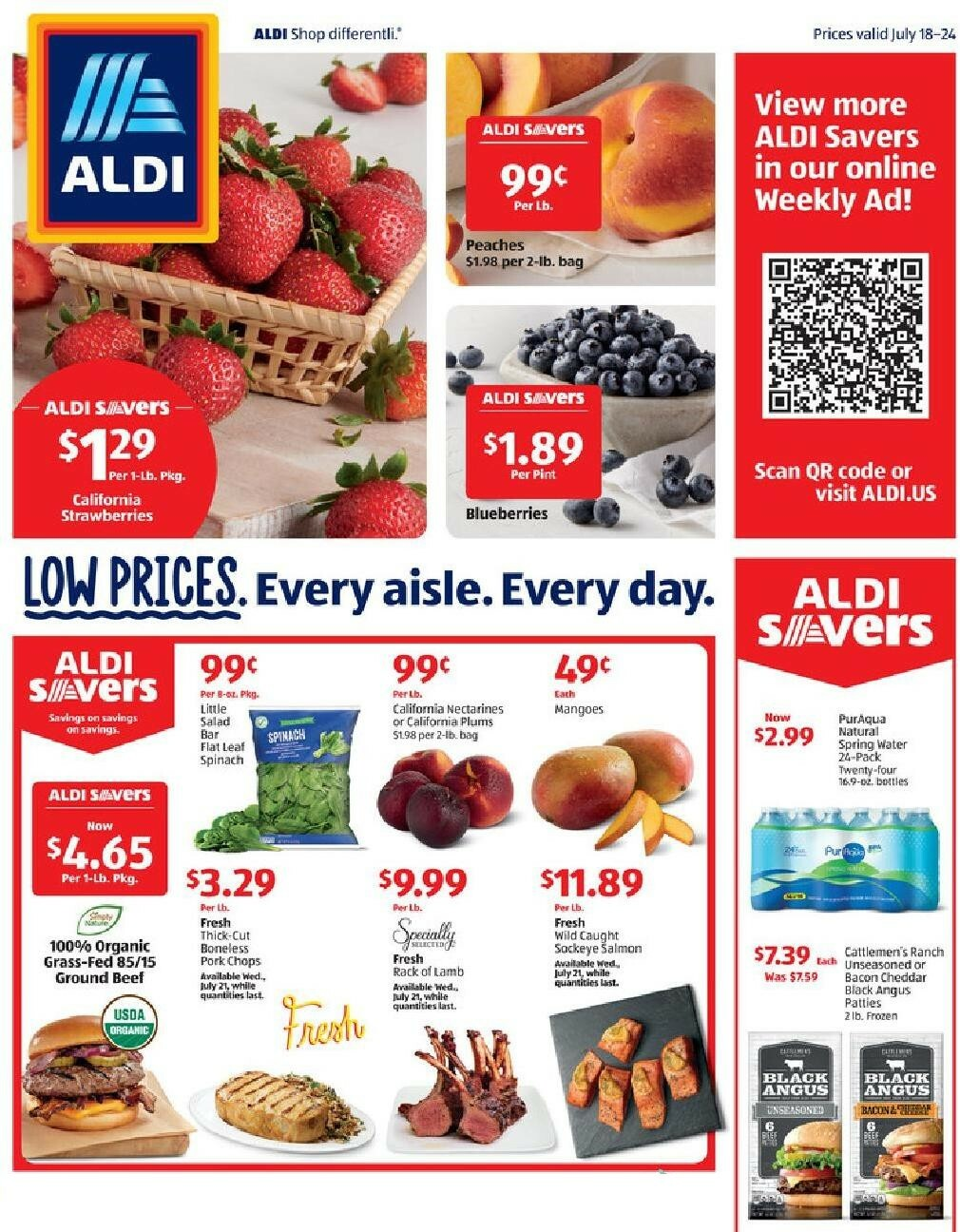 ALDI Weekly Ad from July 18