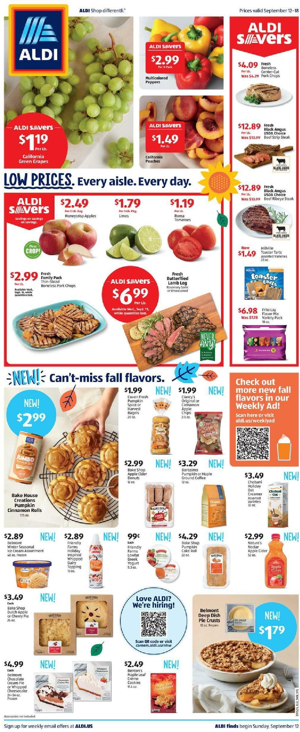 ALDI Weekly Ad from September 12
