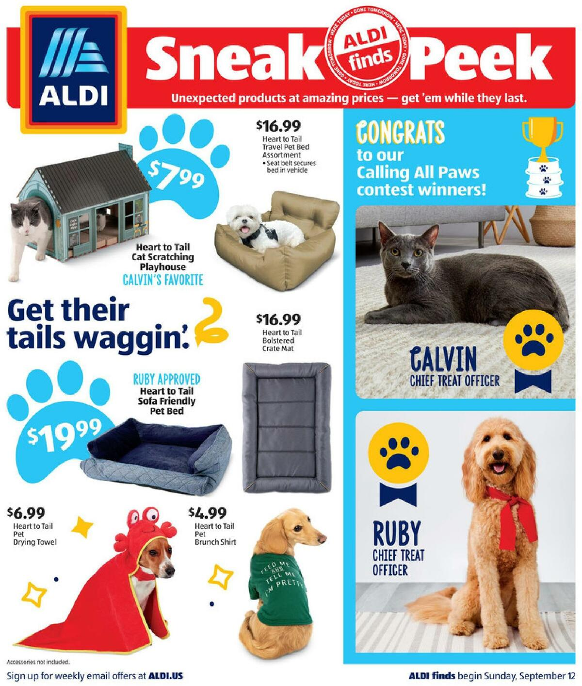 ALDI In Store Ad Weekly Ad from September 12