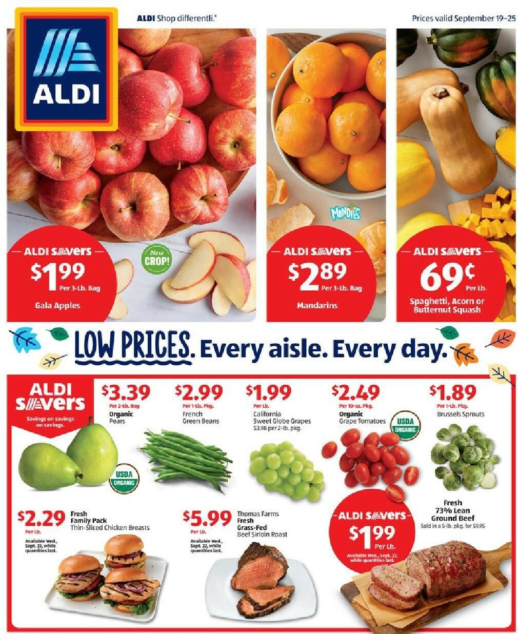 ALDI Weekly Ad from September 19