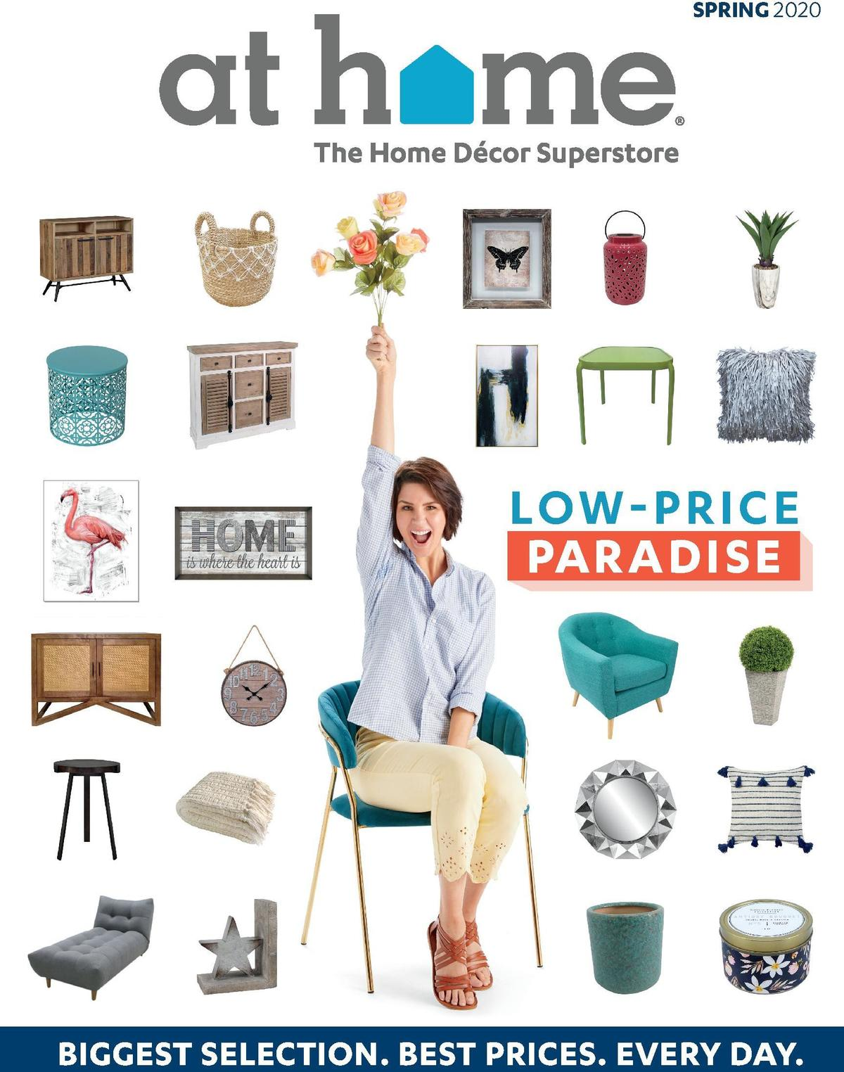 At Home Weekly Ad from February 20