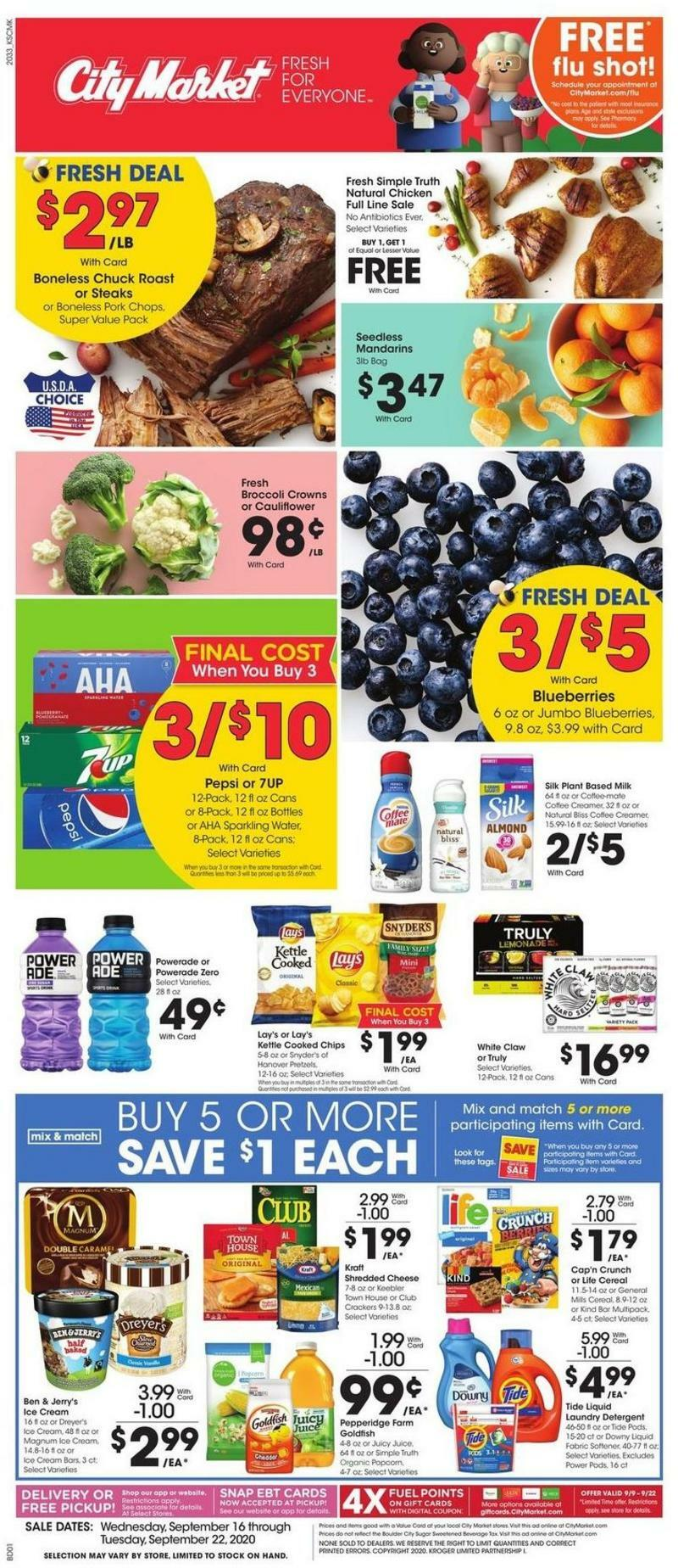 City Market Weekly Ad from September 16