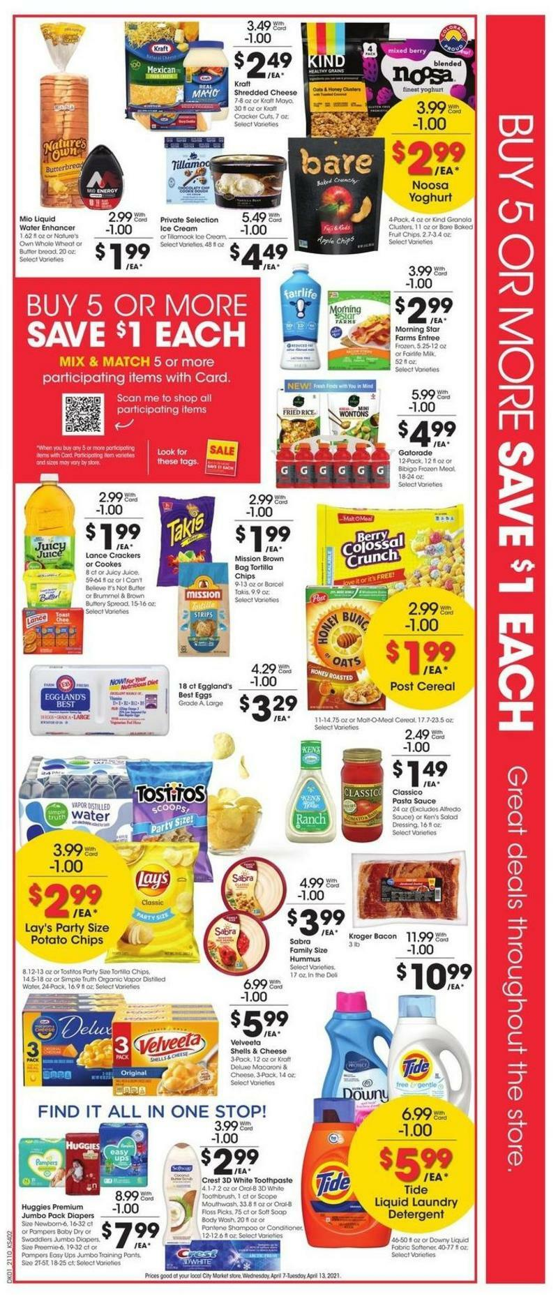 City Market Weekly Ad from April 7