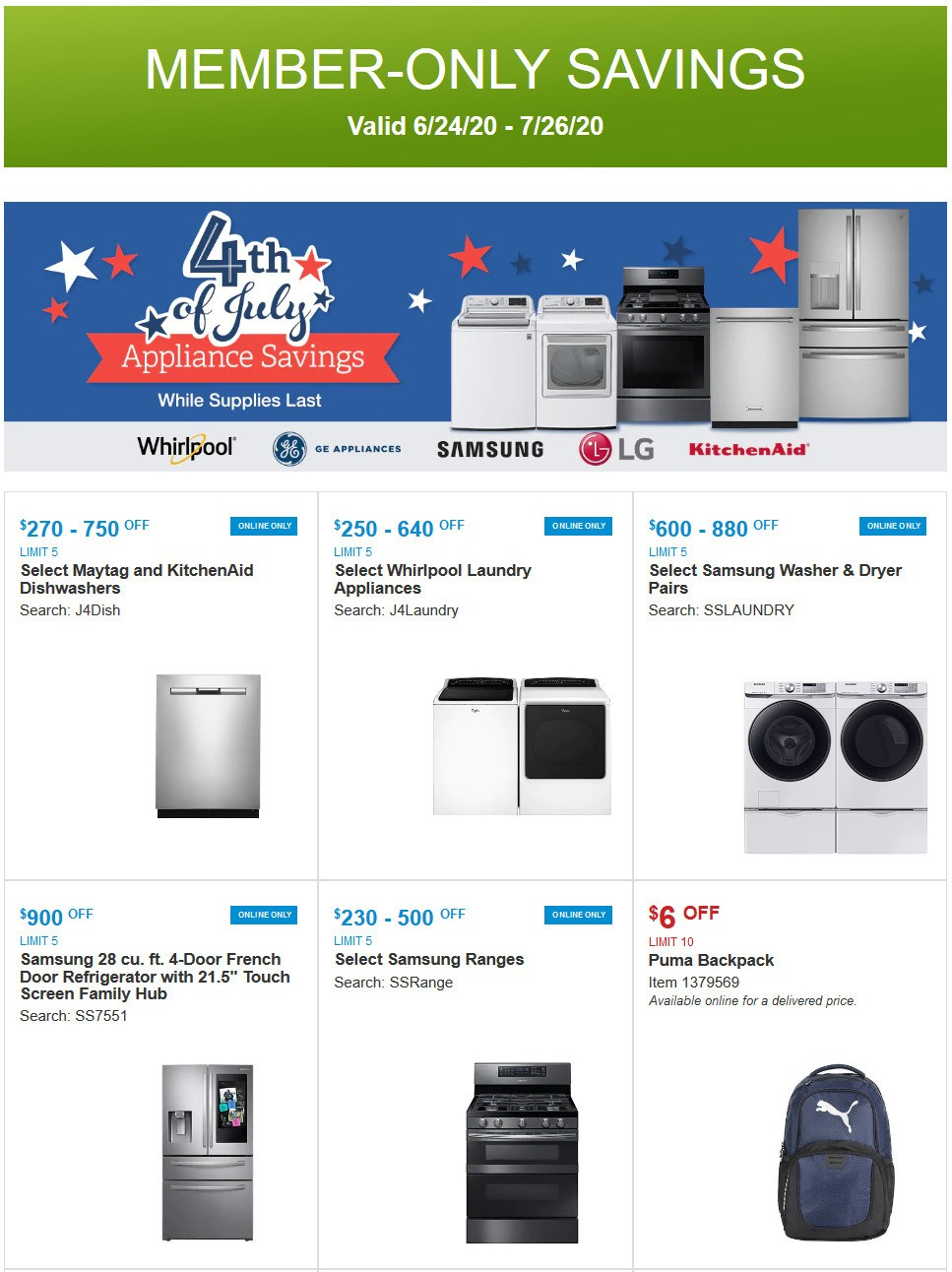 Costco Weekly Ad from June 24