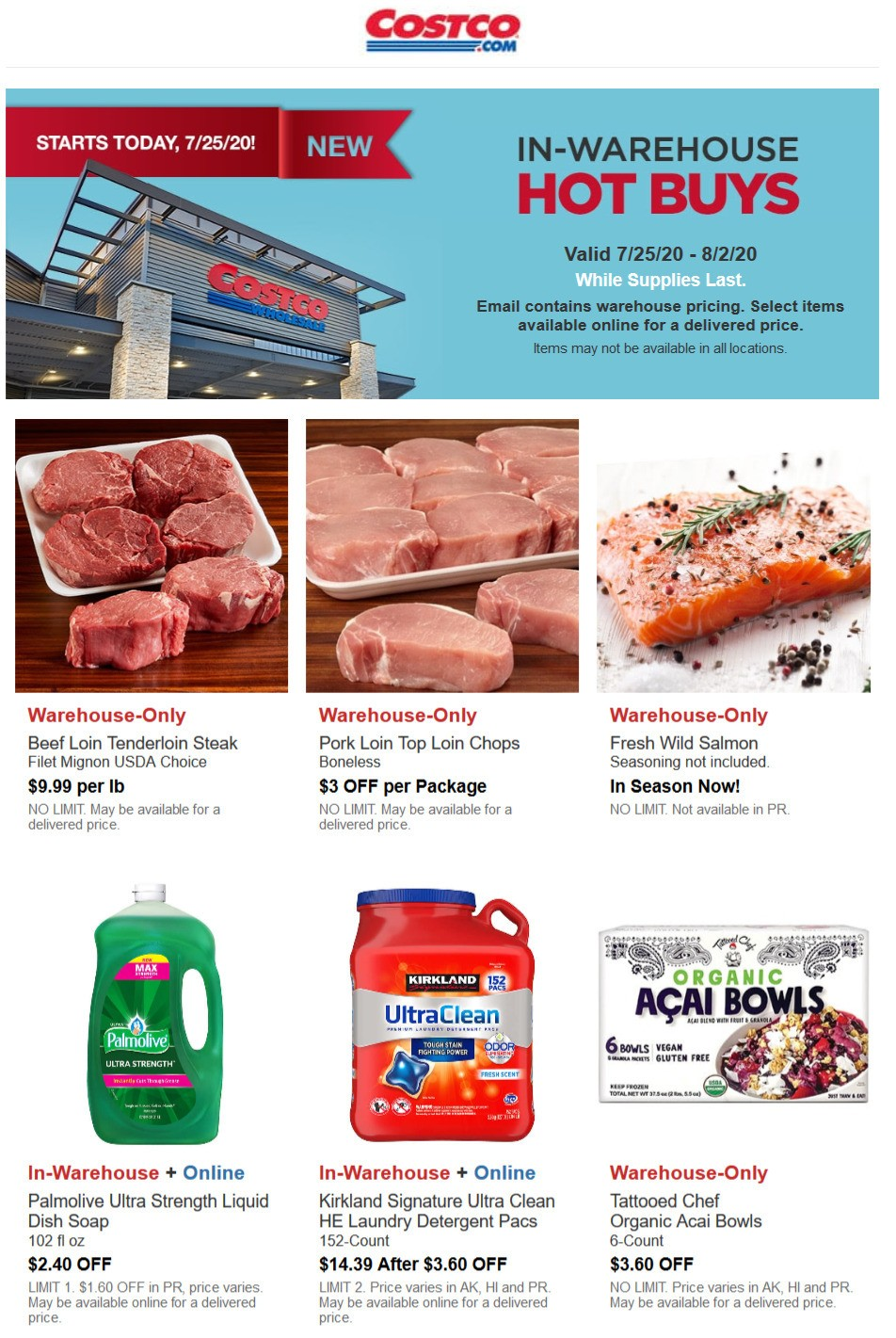 Costco Hot Buys Weekly Ad from July 25