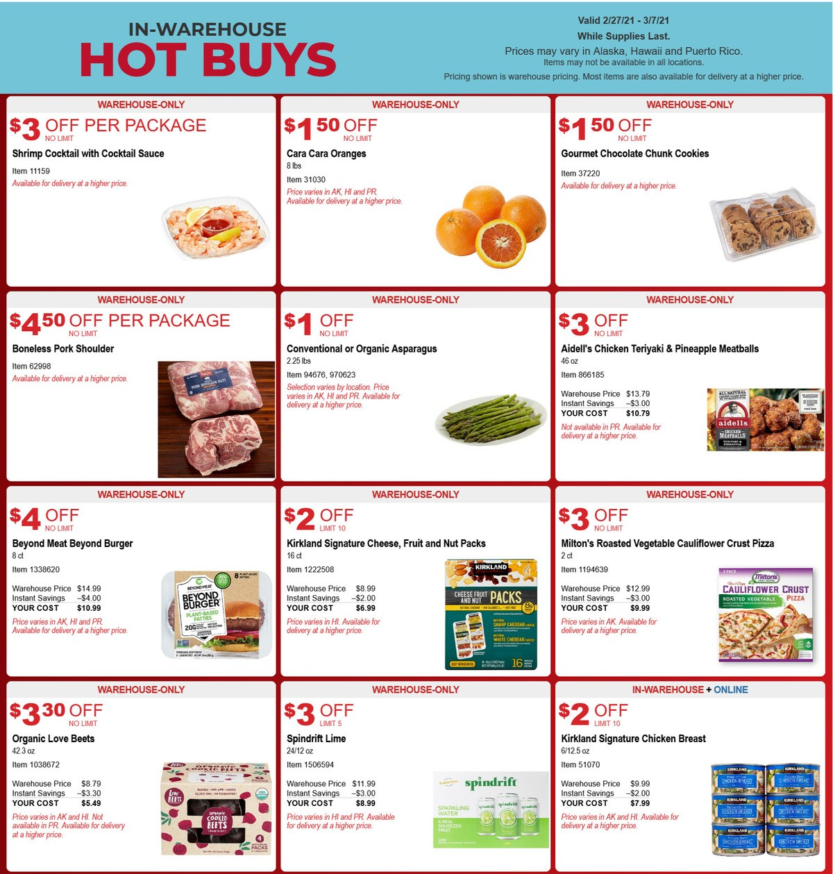 Costco Hot Buys Weekly Ad from February 27