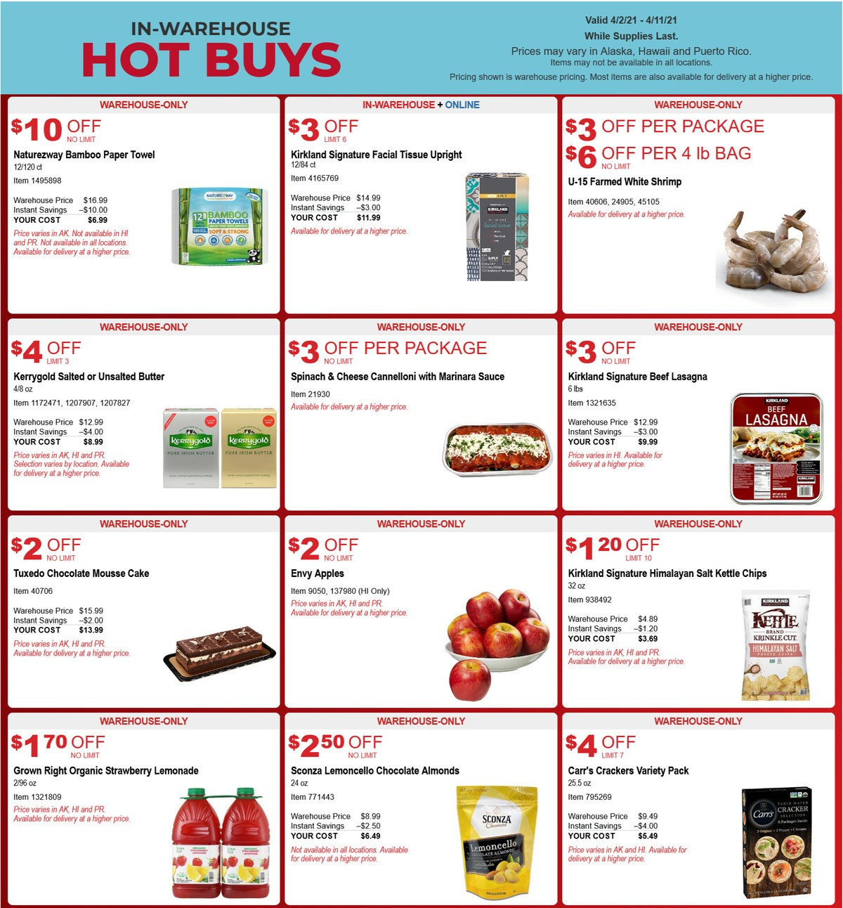 Costco Hot Buys Weekly Ad from April 2