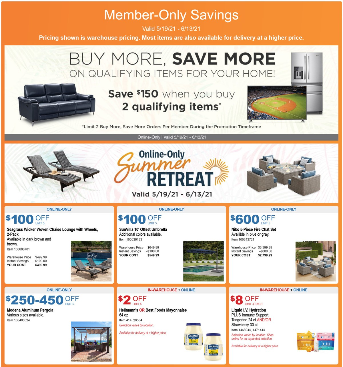 Costco Weekly Ad from May 19
