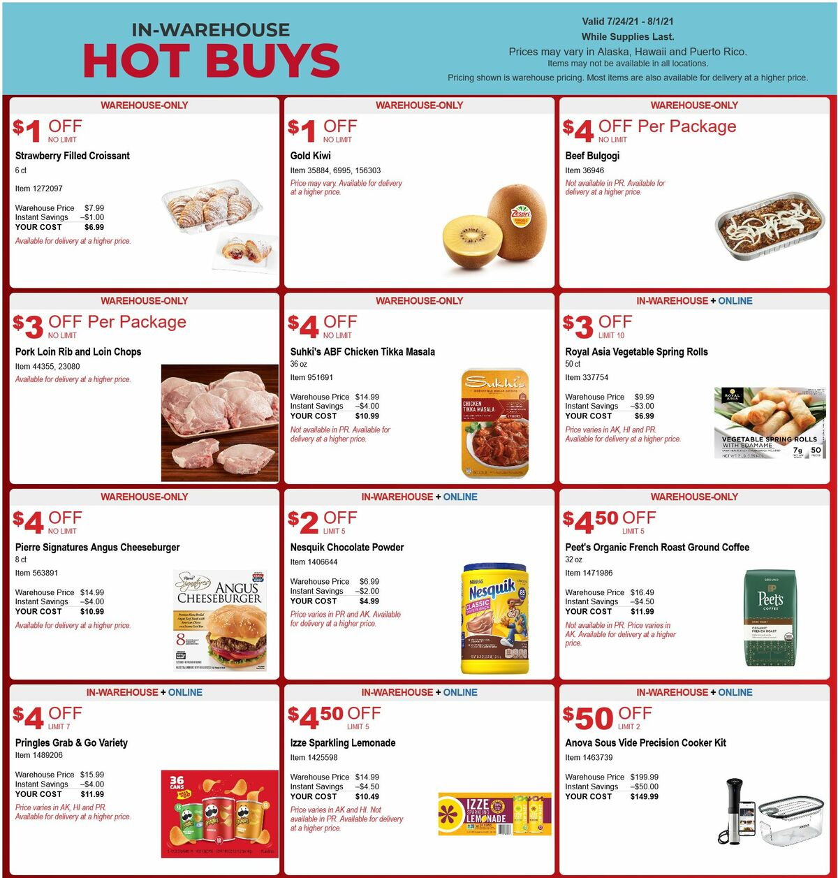 Costco Hot Buys Weekly Ad from July 24