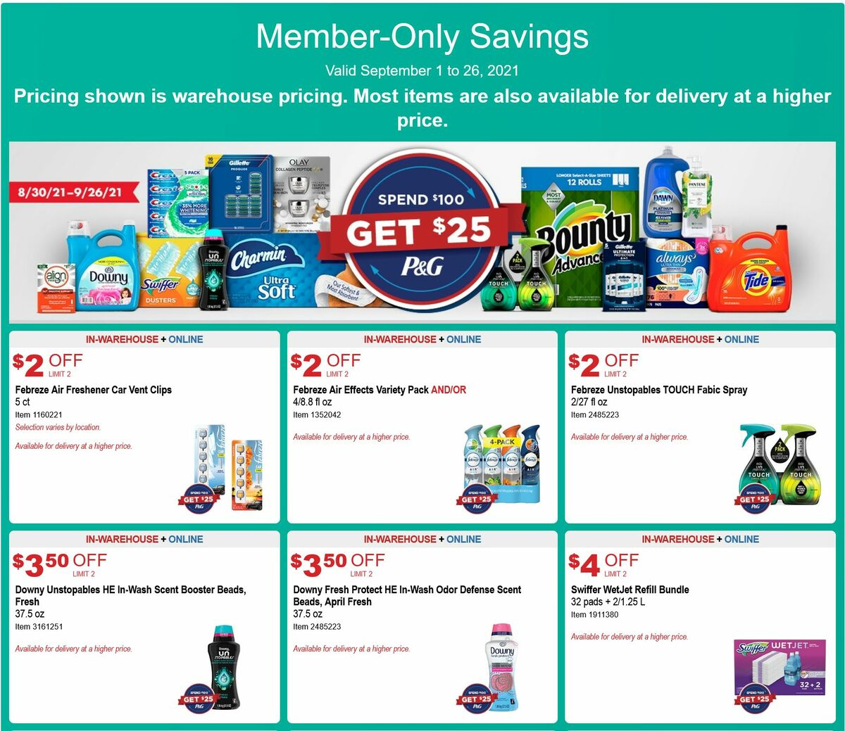 Costco Weekly Ad from September 1