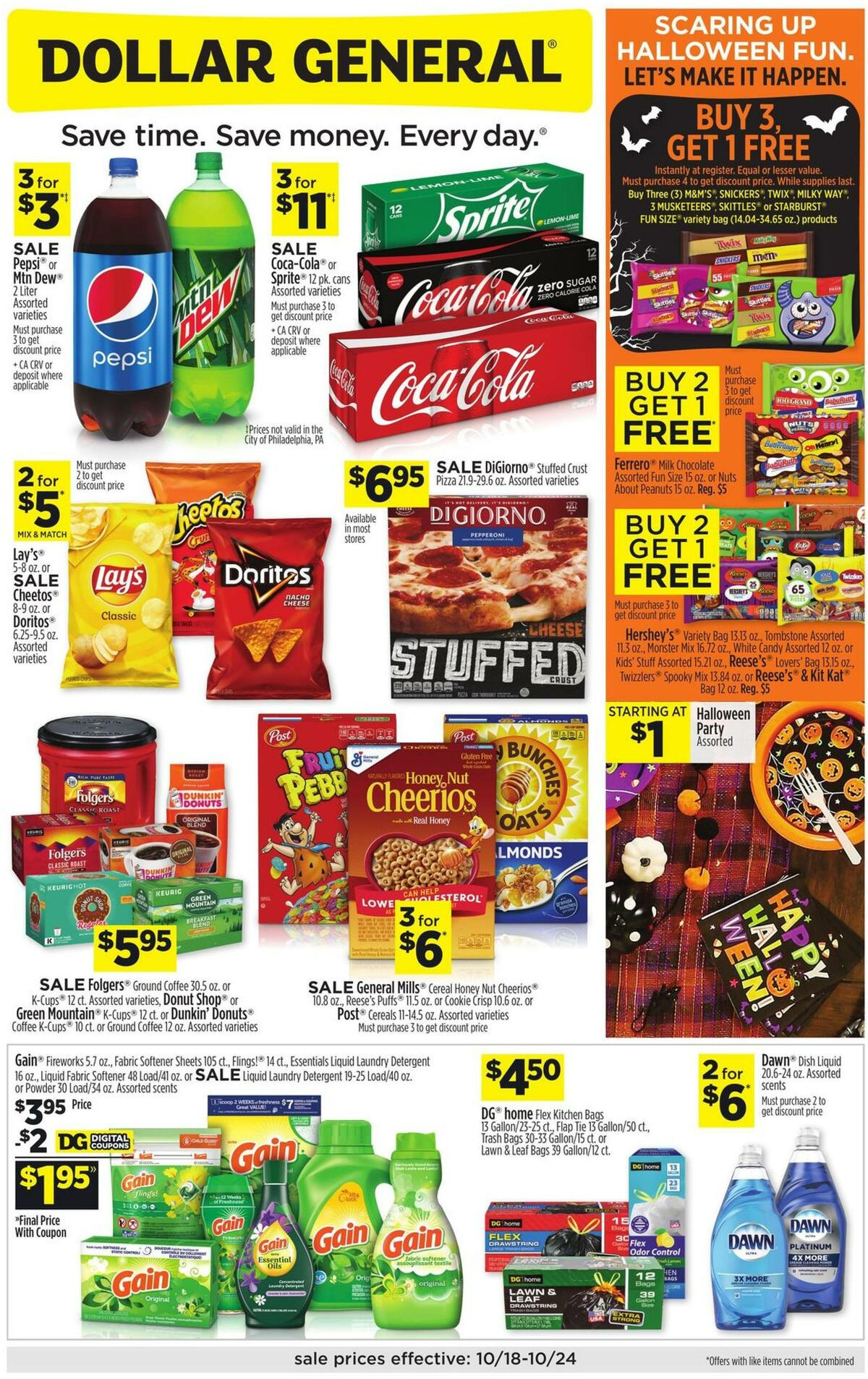 Dollar General Weekly Ad from October 18