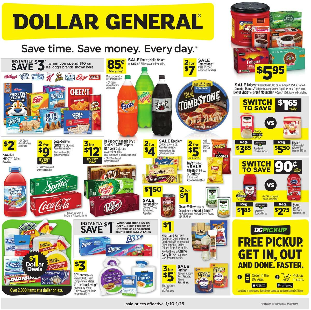 Dollar General Weekly Ad from January 10
