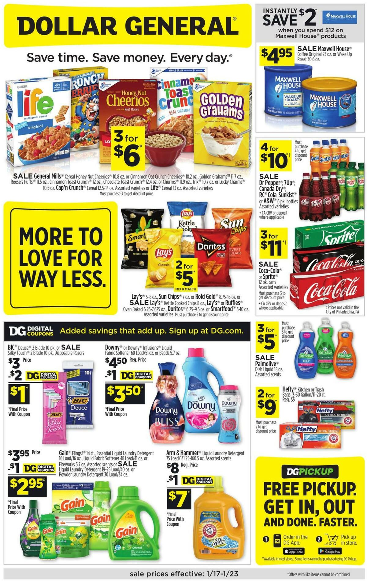 Dollar General Weekly Ad from January 17