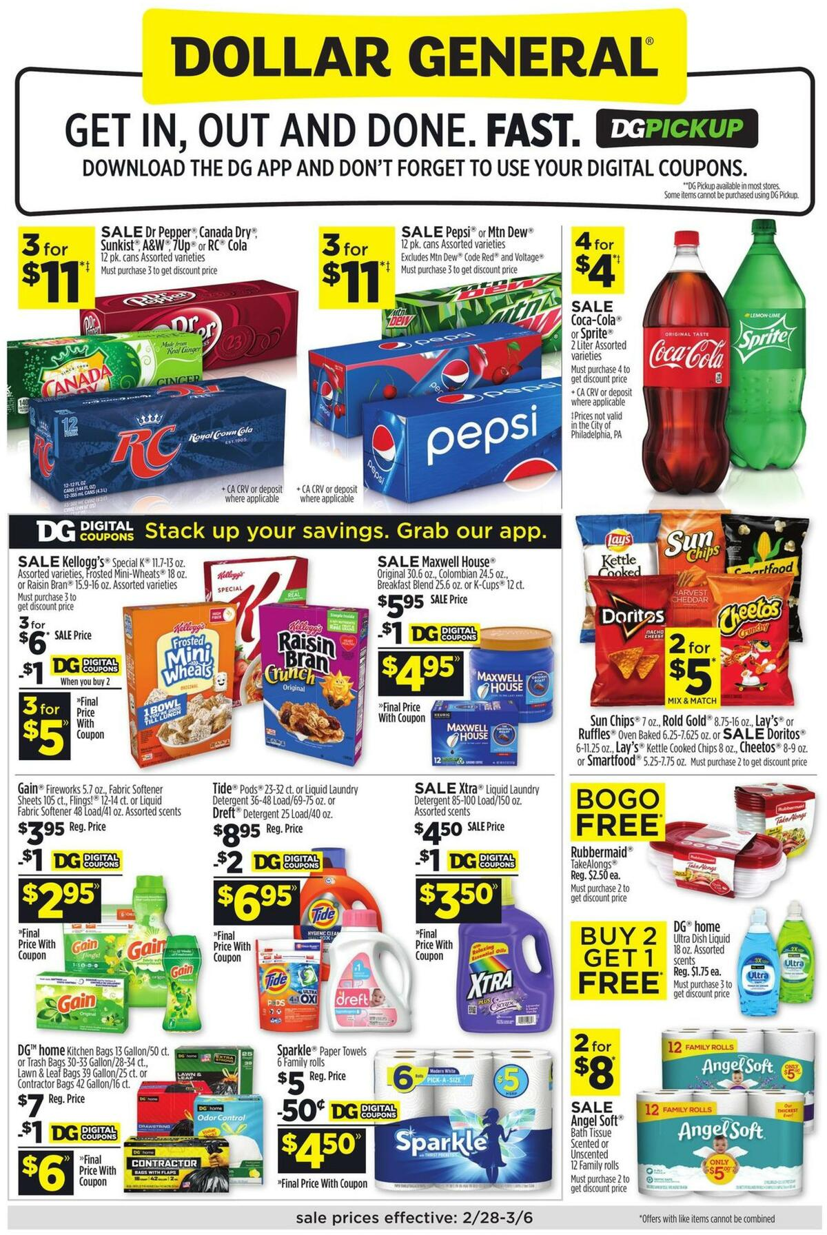 Dollar General Weekly Ad from February 28