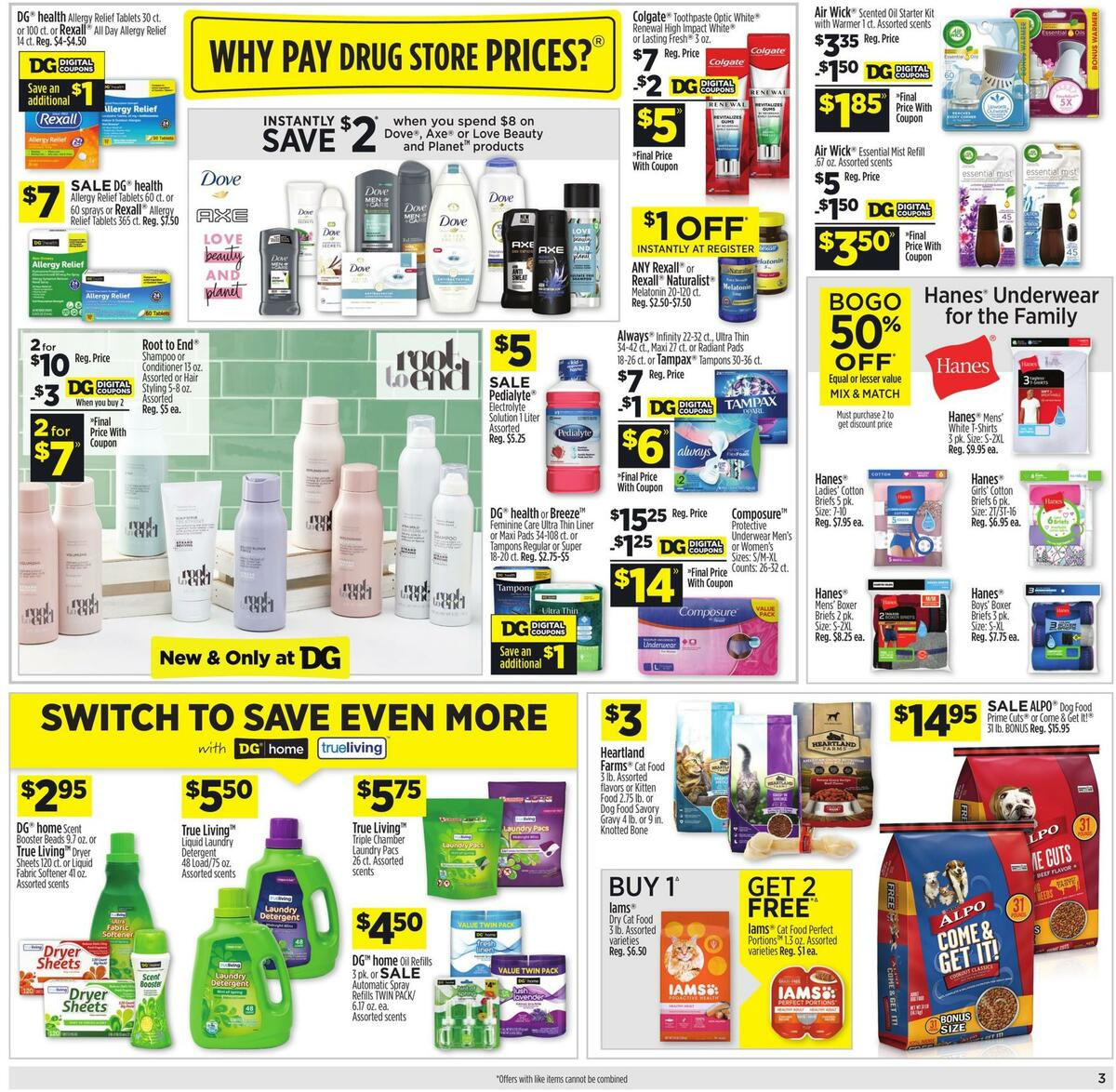 Dollar General Weekly Ad from April 4