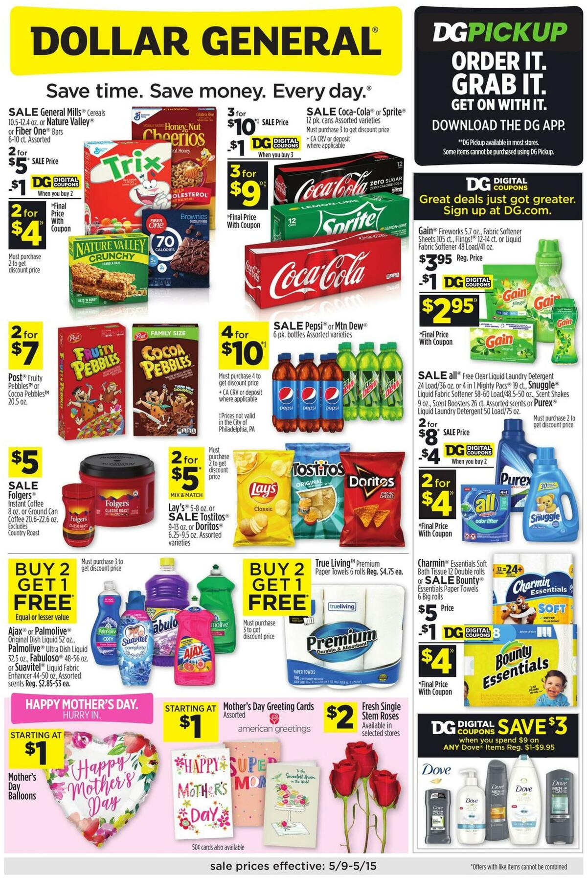 Dollar General Weekly Ad from May 9
