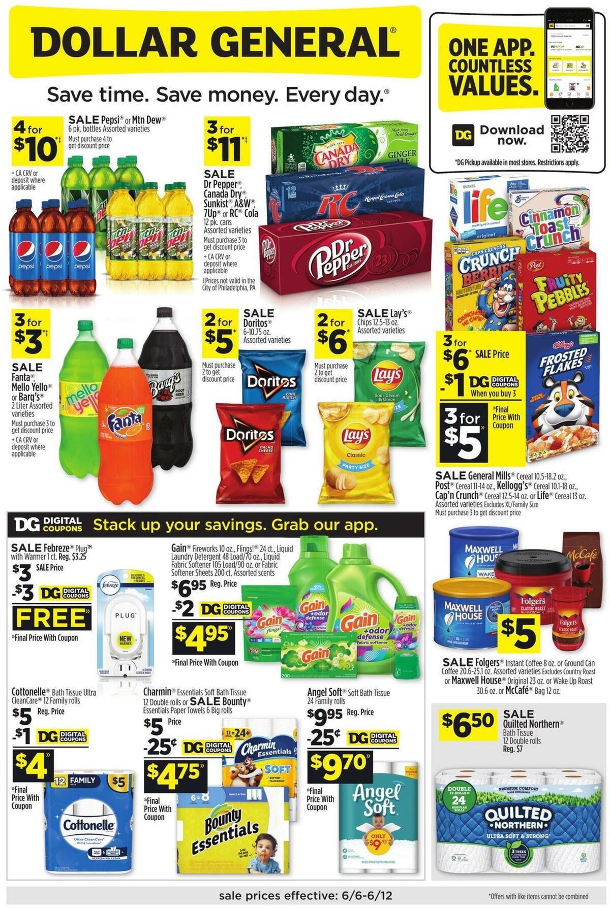 Dollar General Weekly Ad from June 6