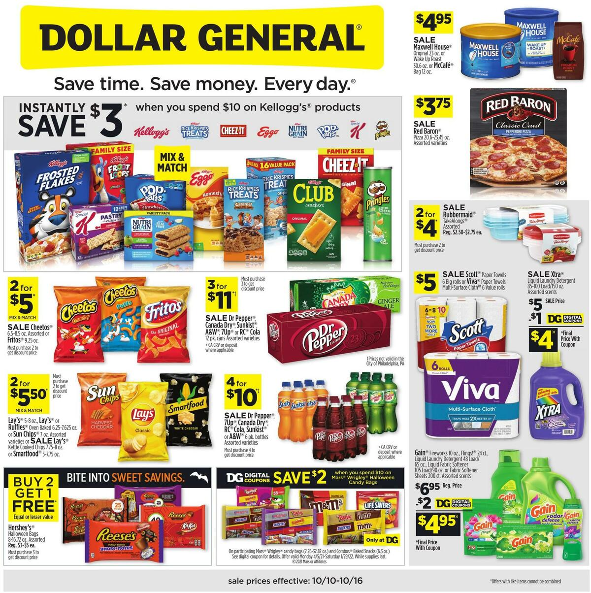 Dollar General Weekly Ad from October 10