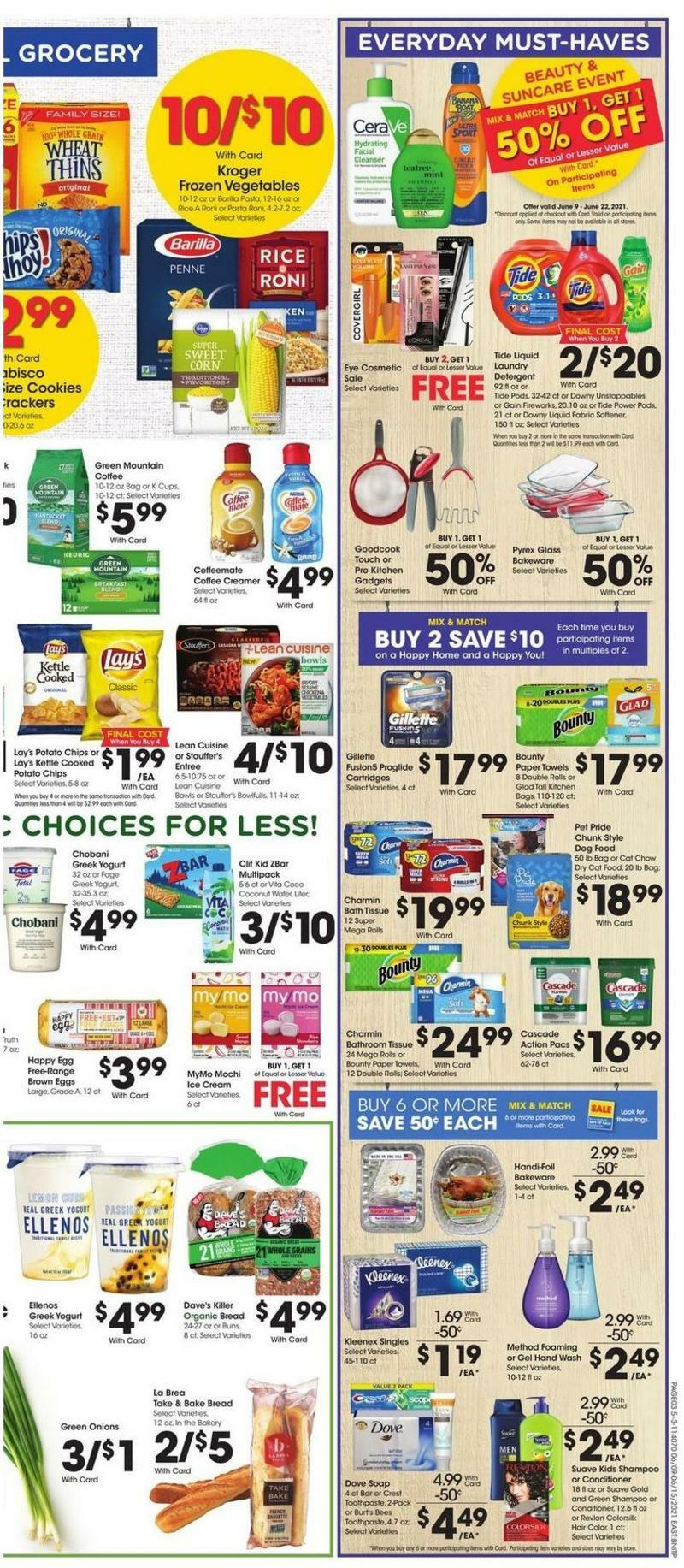 Fred Meyer Weekly Ad from June 9
