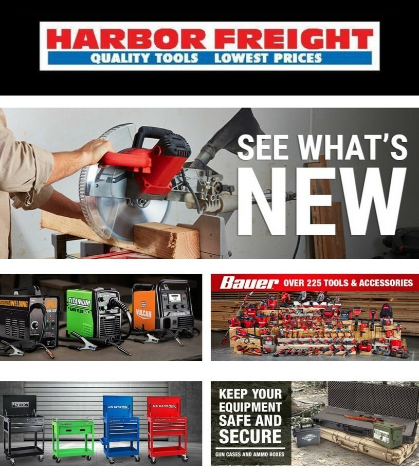 Harbor Freight Tools Weekly Ad from February 10