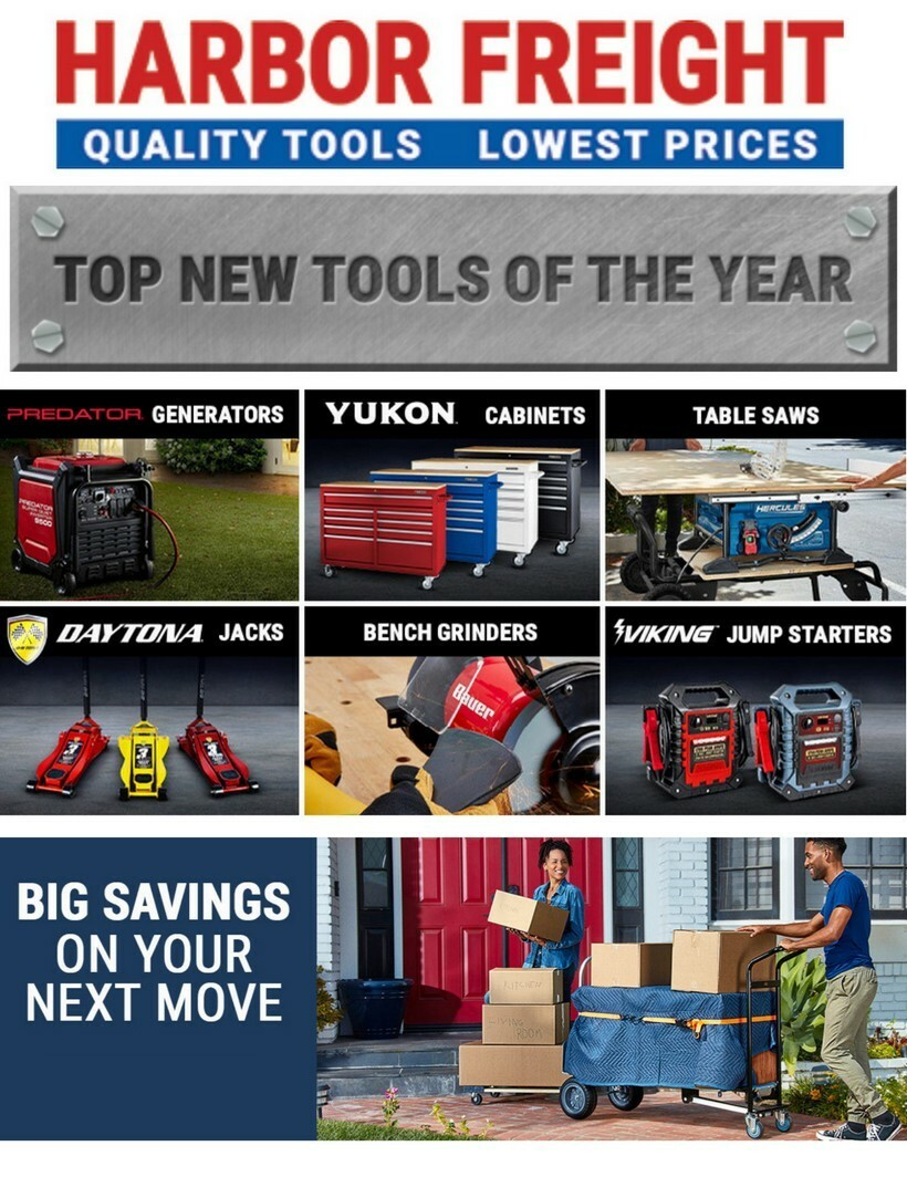 Harbor Freight Tools Weekly Ad from June 22