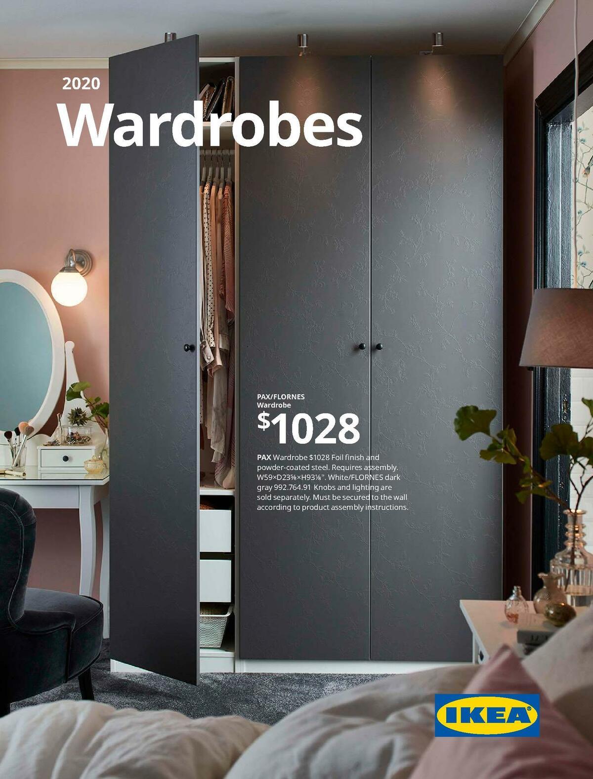 IKEA Wardrobe Brochure Weekly Ad from January 1