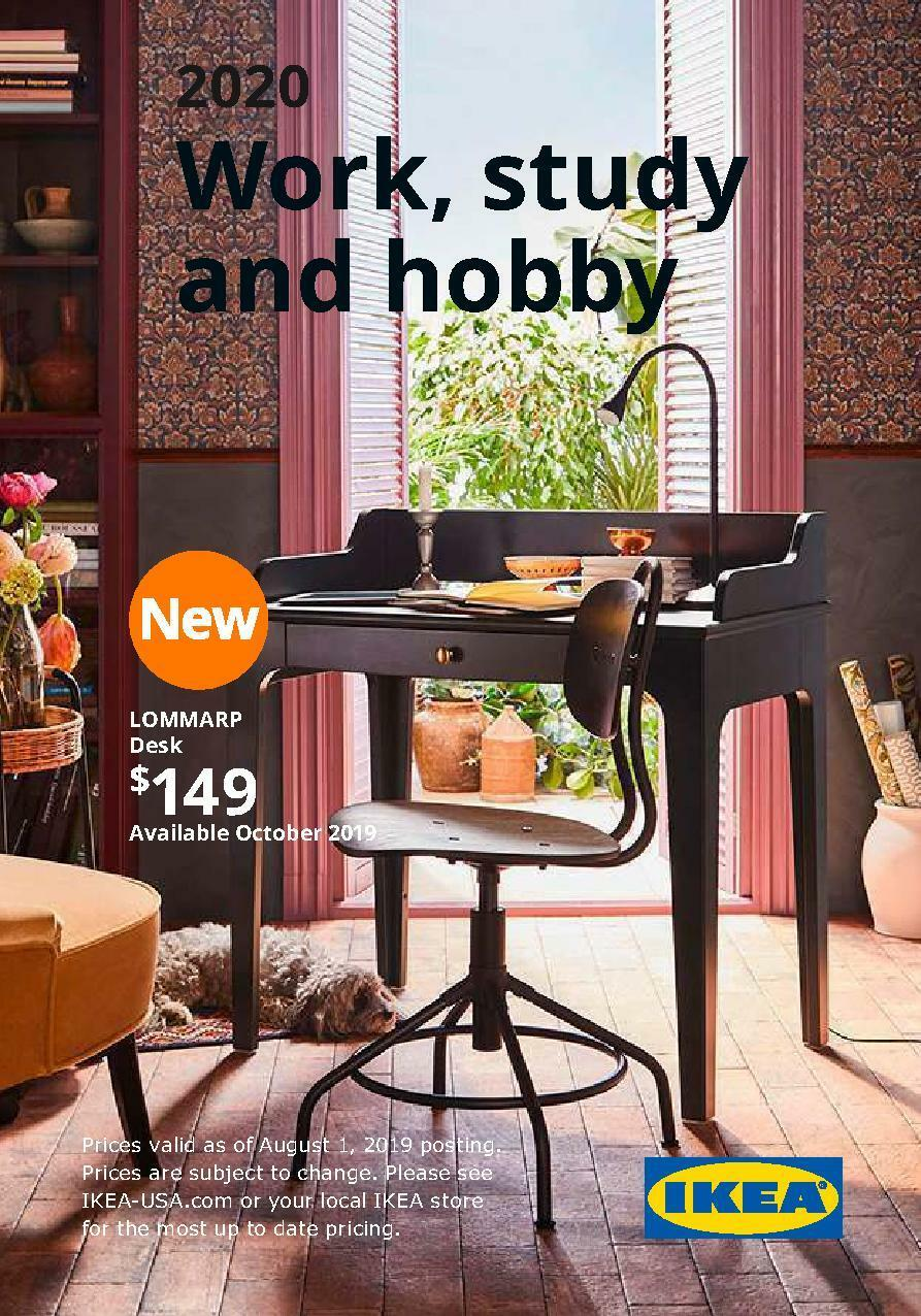 IKEA Workspaces Brochure Weekly Ad from January 1