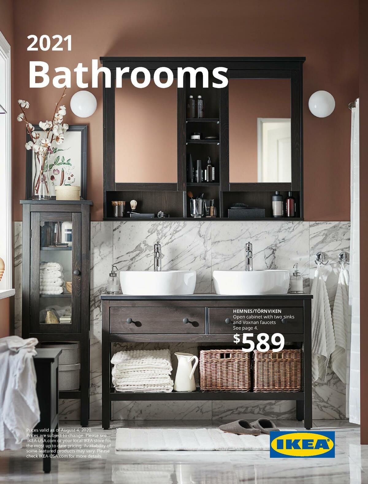 IKEA Bathrooms Brochure 2021 Weekly Ad from August 31