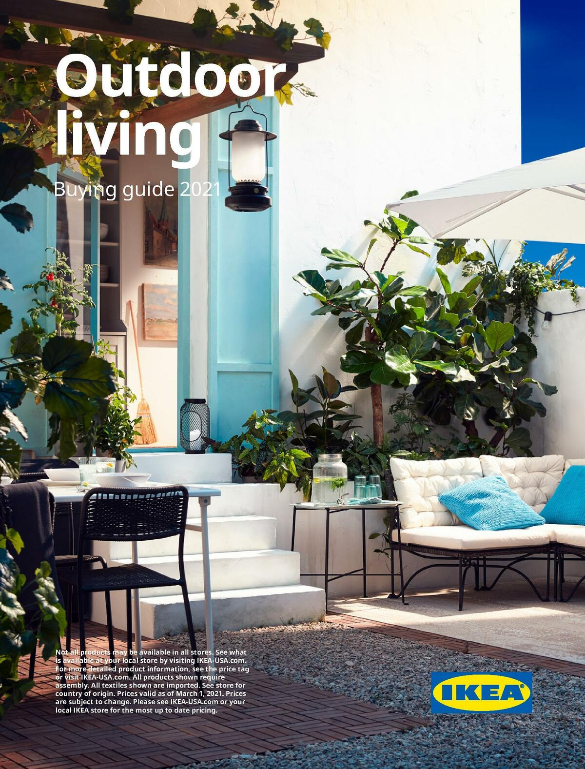 IKEA Outdoor Living Brochure Weekly Ad from March 1