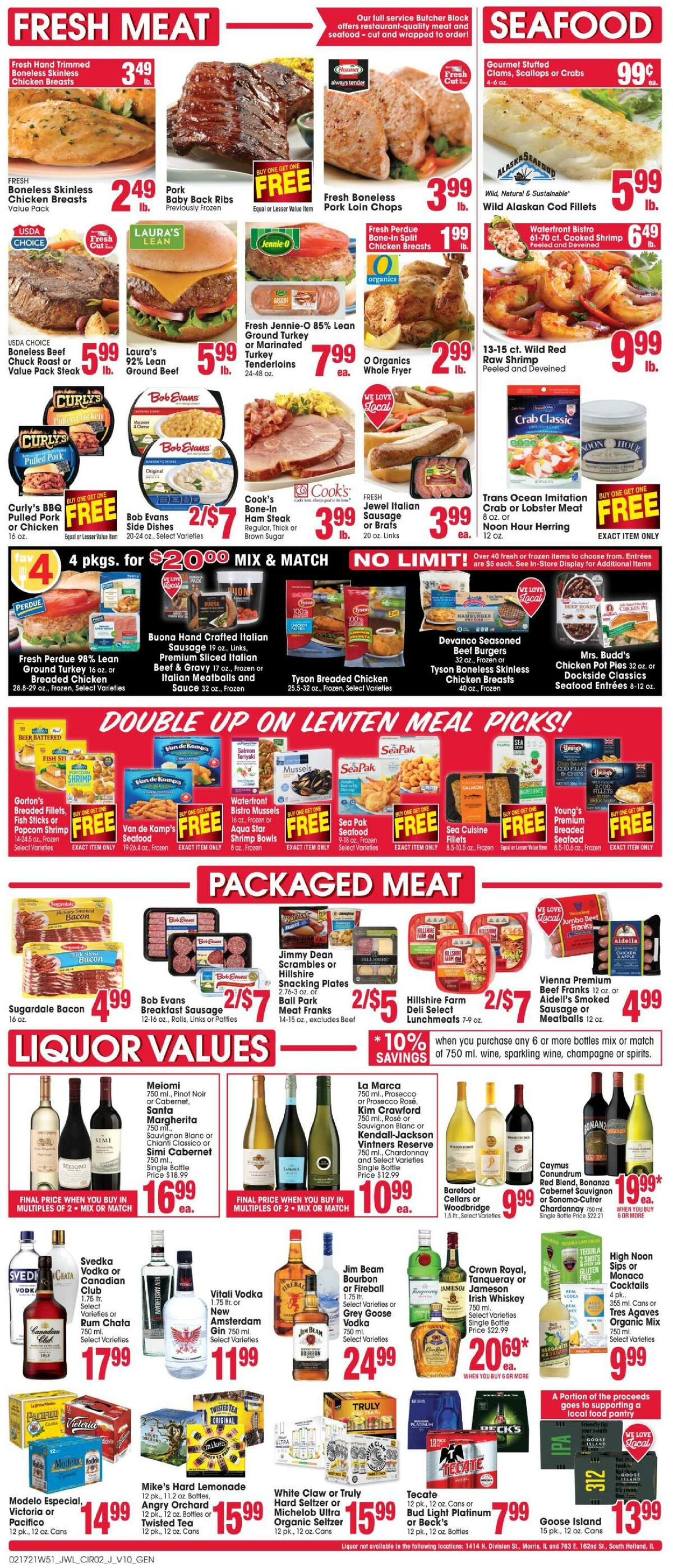 Jewel Osco Weekly Ad from February 17