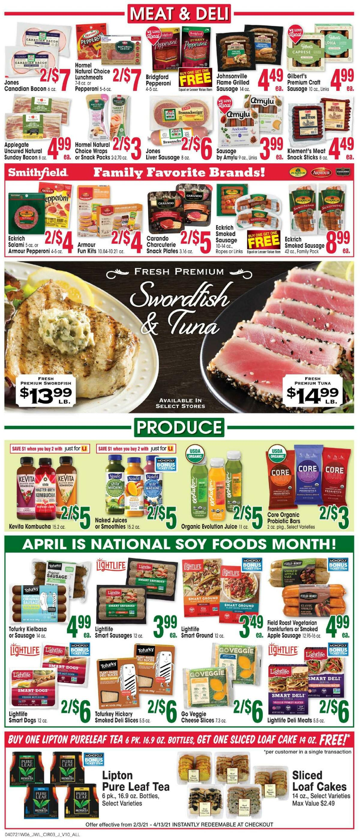 Jewel Osco Weekly Ad from April 7