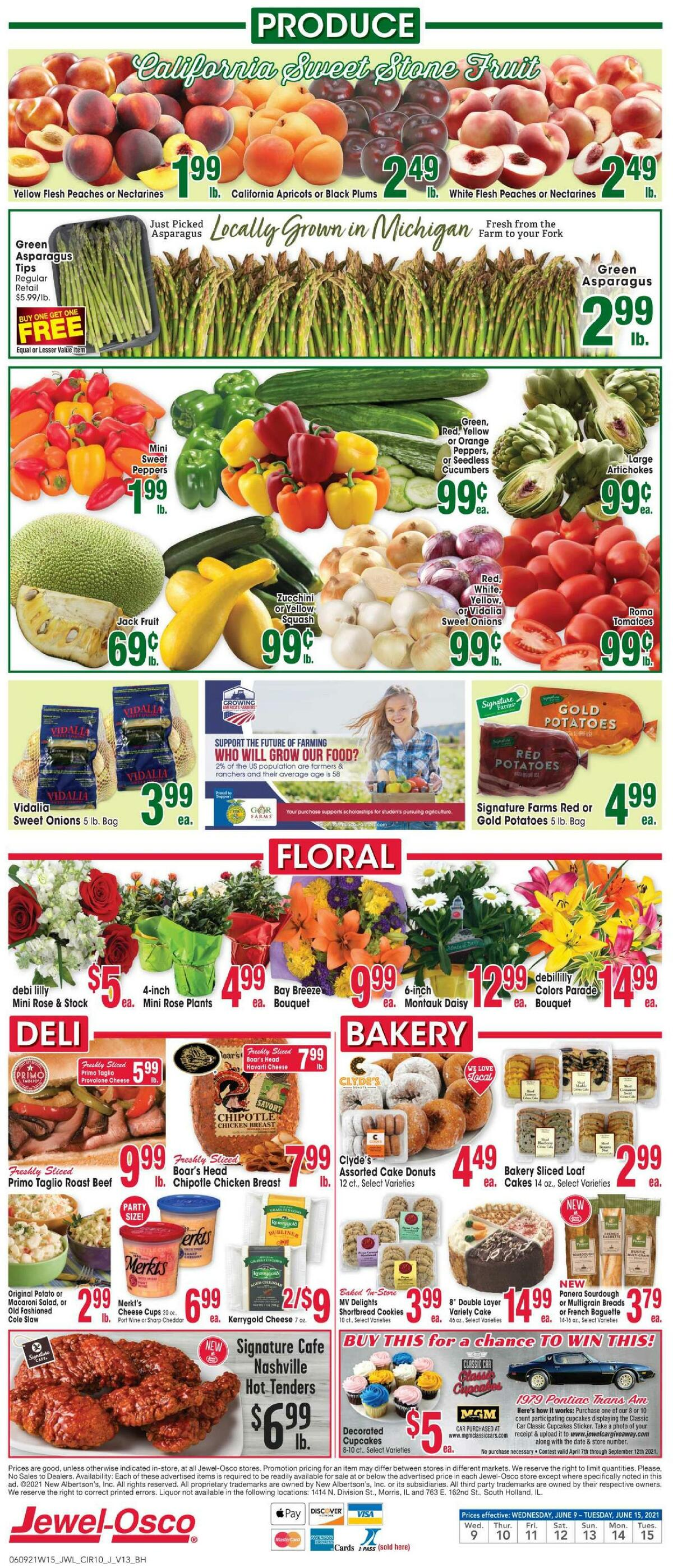 Jewel Osco Weekly Ad from June 9