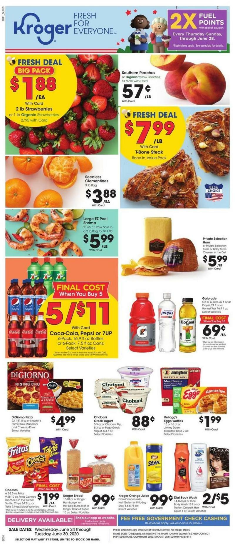 Kroger Weekly Ad from June 24