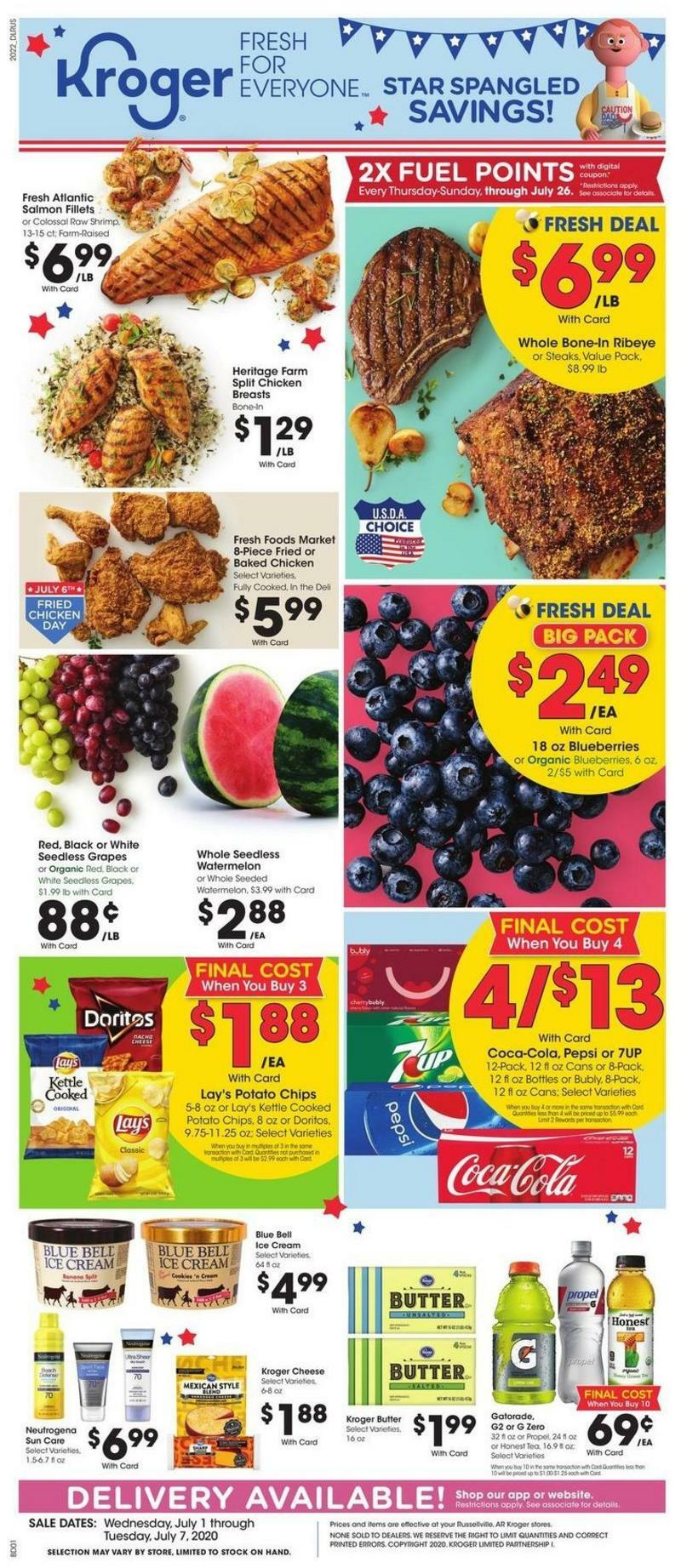 Kroger Weekly Ad from July 1