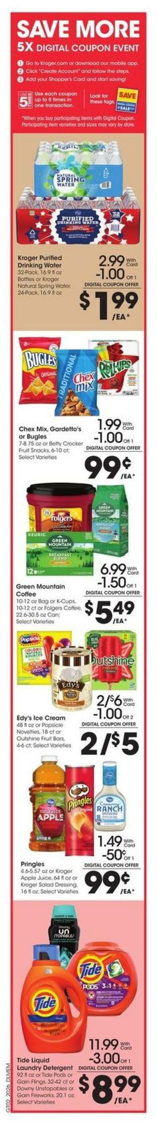 Kroger Weekly Ad from July 29