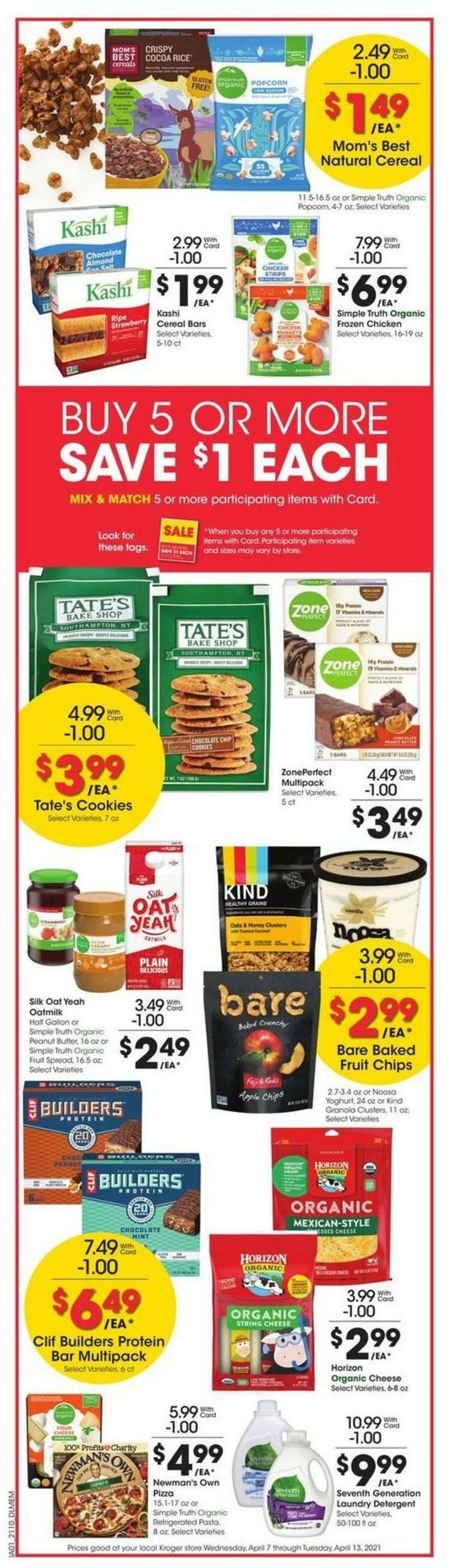 Kroger Weekly Ad from April 7