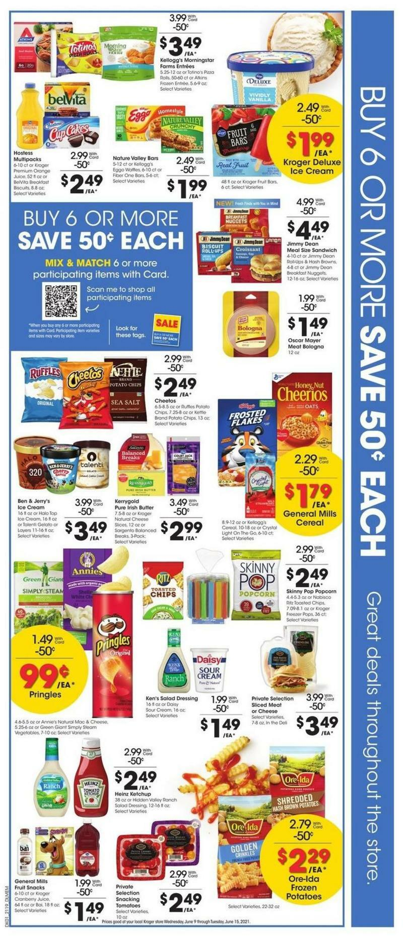Kroger Weekly Ad from June 9