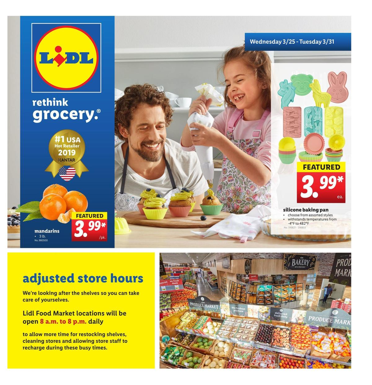 LIDL Weekly Ad from March 25