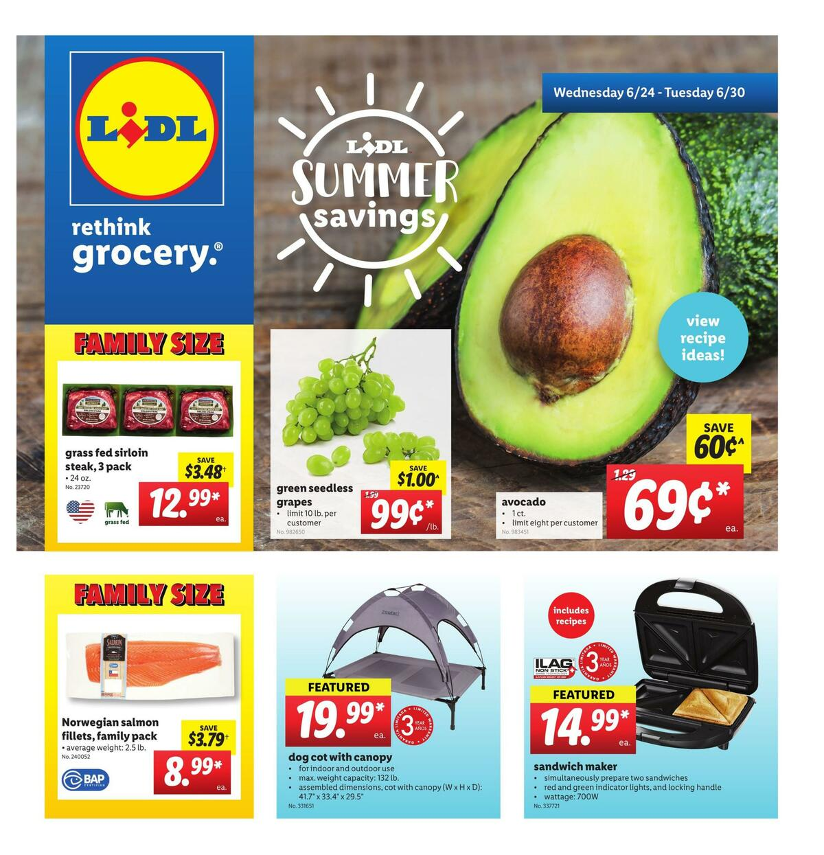 LIDL Weekly Ad from June 24