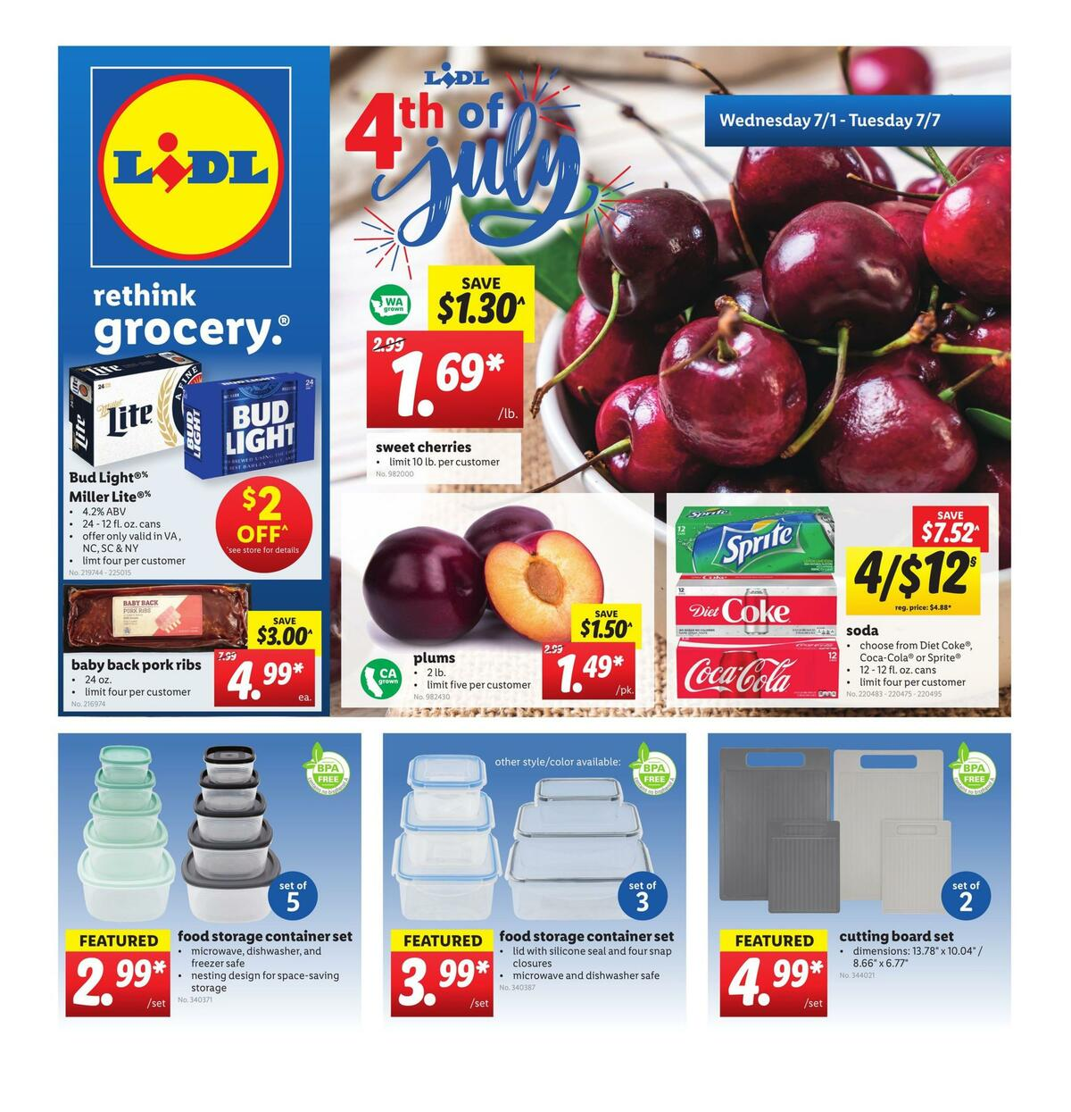 LIDL Weekly Ad from July 1