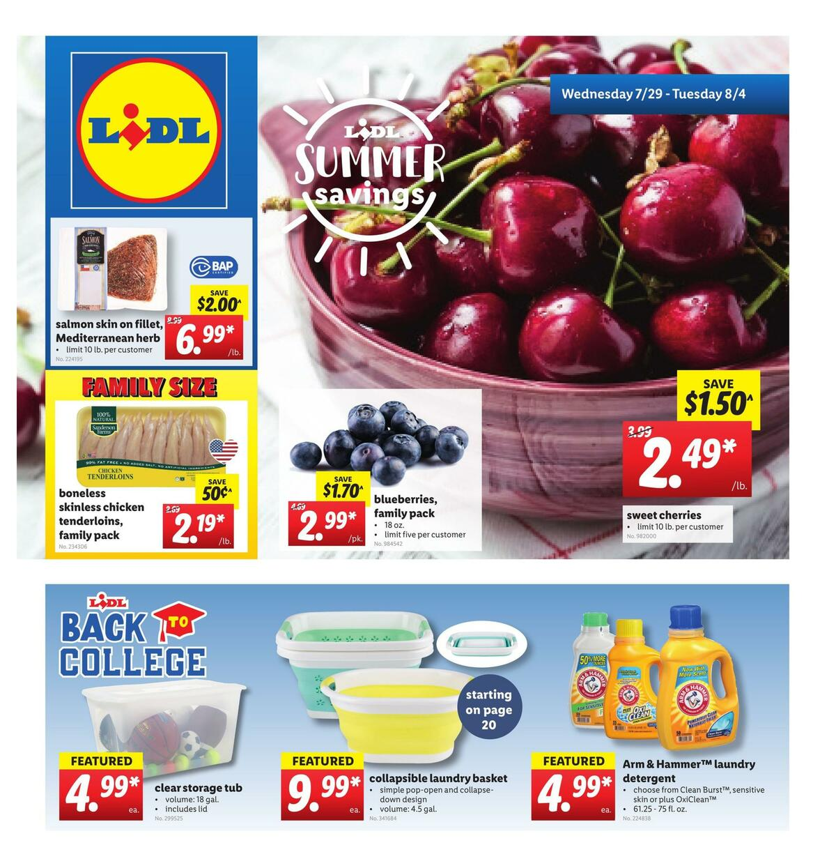 LIDL Weekly Ad from July 29