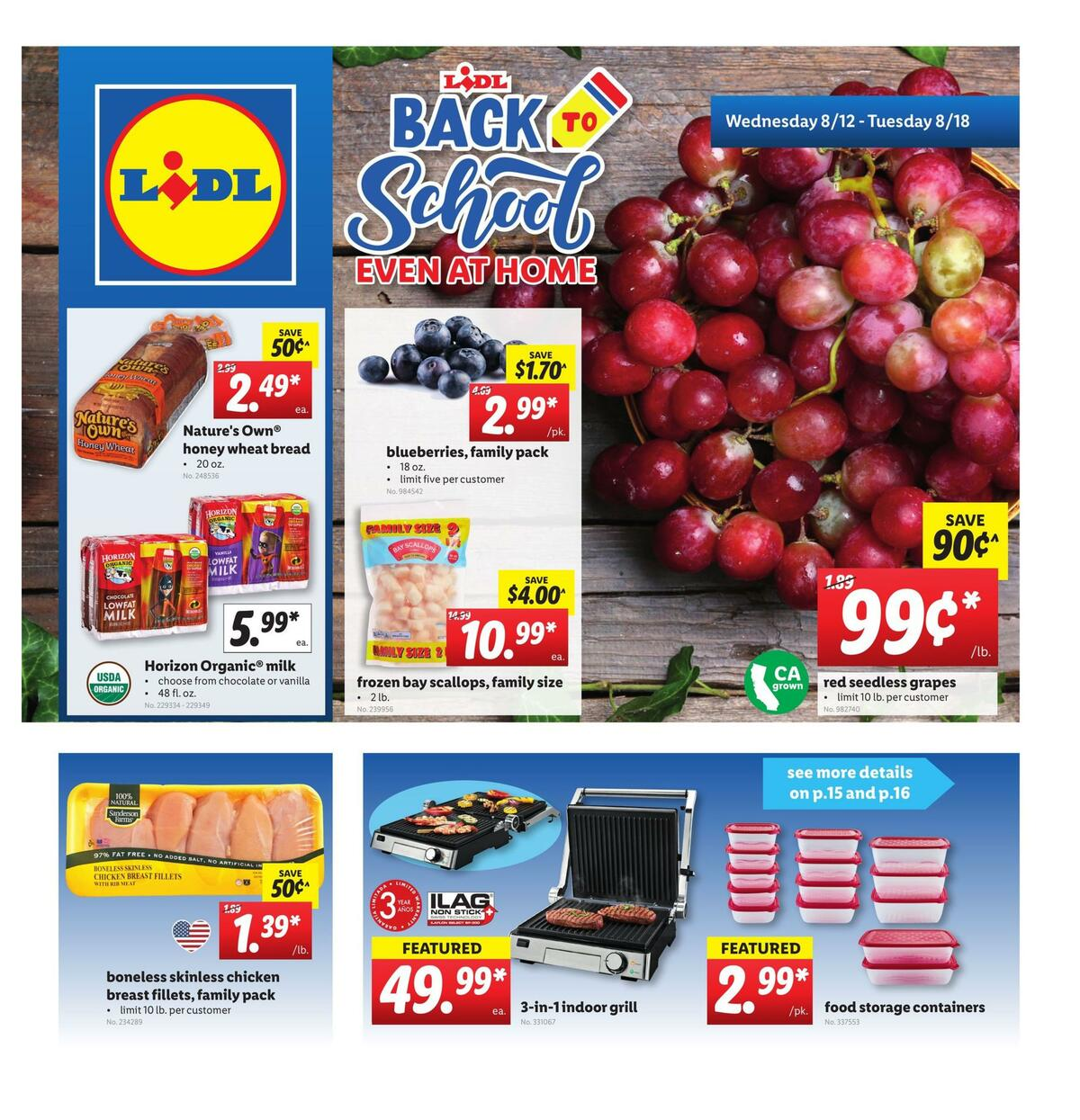 LIDL Weekly Ad from August 12