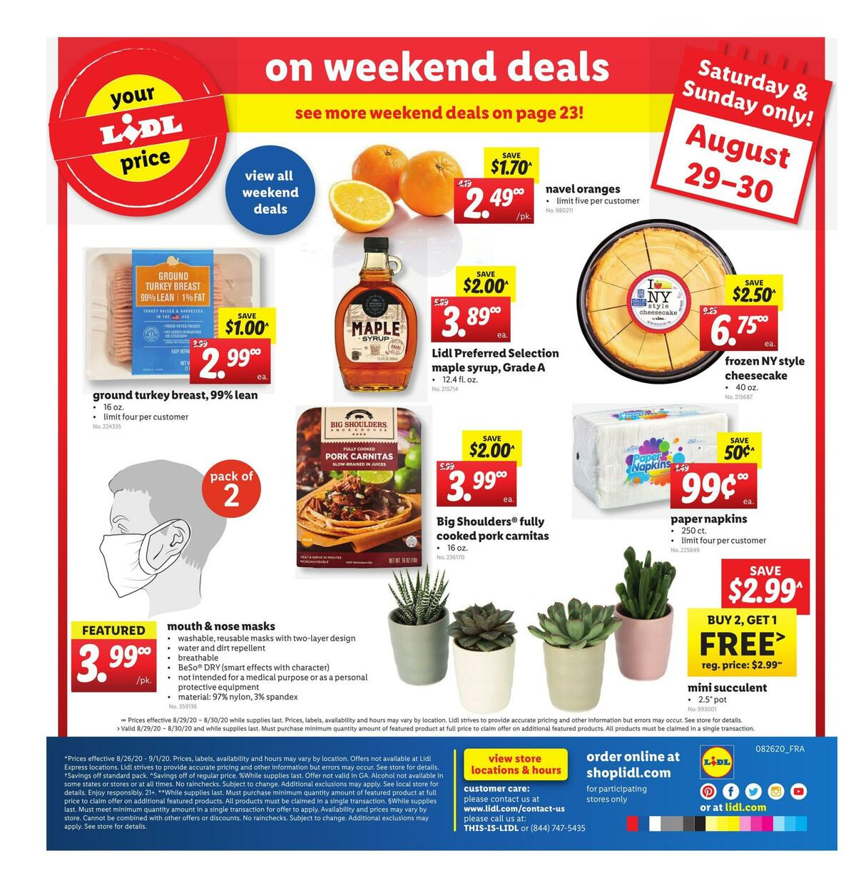 LIDL Weekly Ad from August 26